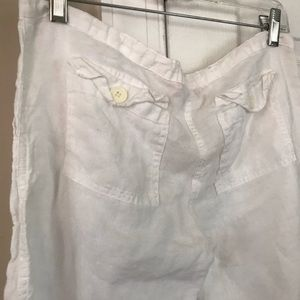 Juice Couture white summer crop style pant